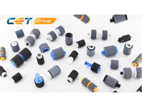 Улучшенный материал резинок для всех роликов подхвата, подачи и отделения CET