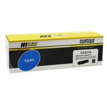 Картридж HP CC531A (Canon 718) Cyan для LaserJet Color CP2025/CM2320, Canon MF-724/728, LBP-7200/7210/7660/7680, MF-8330/8340/8350/8360/ 8380/8540/8550/8580 (Hi-Black)