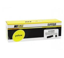 Картридж HP CC532A (Canon 718) Yellow для LaserJet Color CP2025/CM2320, Canon MF-724/728, LBP-7200/7210/7660/7680, MF-8330/8340/8350/8360/ 8380/8540/8550/8580 (Hi-Black)