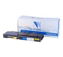 Картридж Xerox 106R02235 Yellow для Phaser 6600/WorkCentre 6605 (NV-Print)