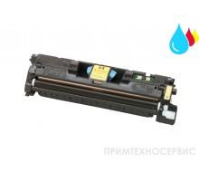 Заправка картриджа HP C9702A Yellow для LaserJet Color 1500/2500
