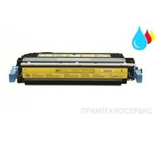 Заправка картриджа HP CB402A Yellow для LaserJet Color CP4005