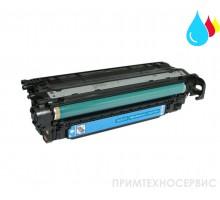 Заправка картриджа HP CE251A Cyan для LaserJet Color CP3525/CM3530
