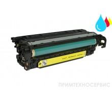Заправка картриджа HP CE252A Yellow для LaserJet Color CP3525/CM3530