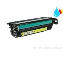 Заправка картриджа HP CE262A Yellow для LaserJet Color CP4025/CP4525
