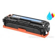 Заправка картриджа HP CB541A Cyan для LaserJet Color CP1215/CM1312
