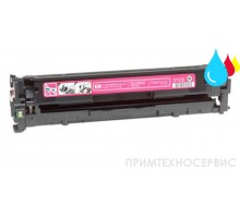 Заправка картриджа HP CB543A Magenta для LaserJet Color CP1215/CM1312